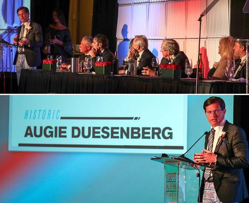 Deusenbergs at 31st Induction