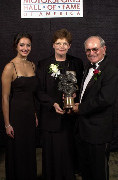 Motorsports-Hostess-aside-Kathy-Donovan-and-award-presenter-Don-Garlits