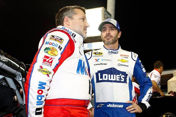 Tony and Jimmie