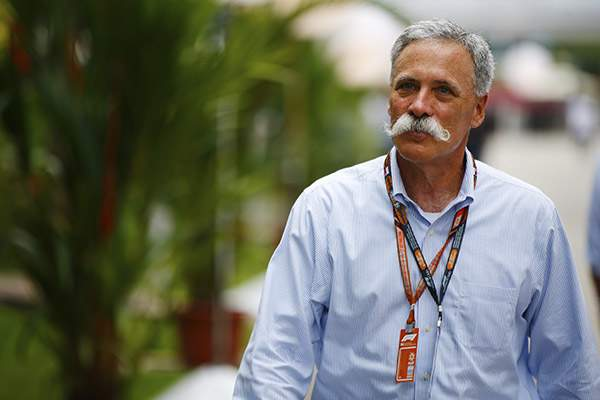 Formula 1 CEO Chase Carey Honorary Chairman of 2019 MSHFA Induction Ceremony