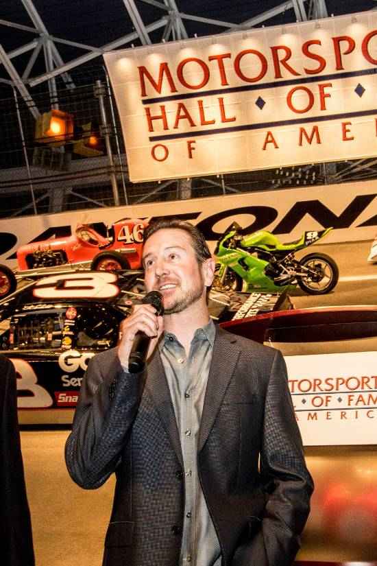 DAYTONA 500 Champion Kurt Busch to Serve as Honorary Chairman  At 2017 MSHFA  Induction Ceremony